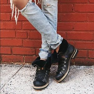 Free People Breakwater Lace Up Hiking Boot